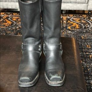 Frye Shoes - Frye Black Harness Boot. Size 10